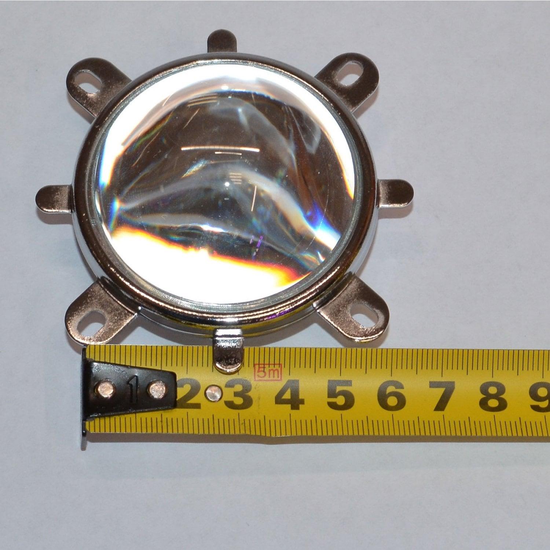 Линза с держателем и отражателем для светодиодных матриц 10Watt