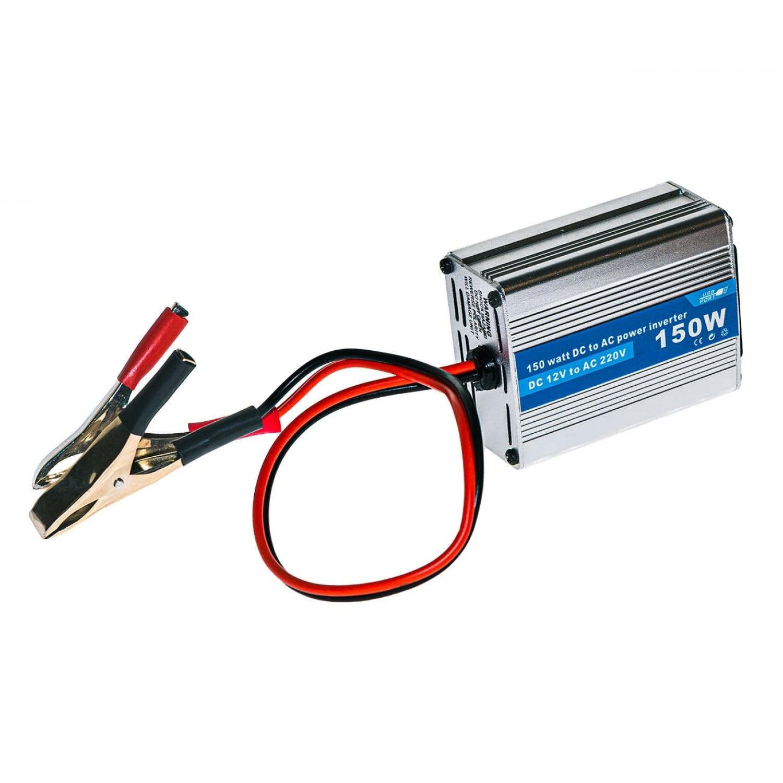 Инвертор преобразователь (150Ватт) DC 12Вольт в AC 220Вольт и 5Вольт USB