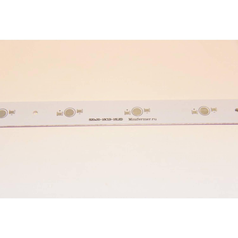 Модуль линейный 18x3 Ватт 796 мм пустой