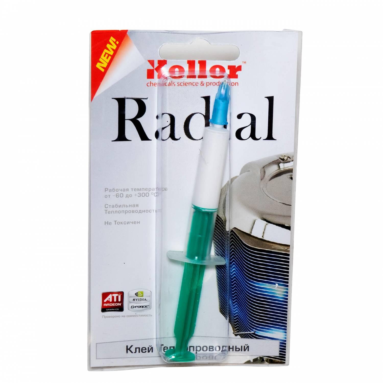 Термоклей Радиал (Radial) для светодиодов (2мл)