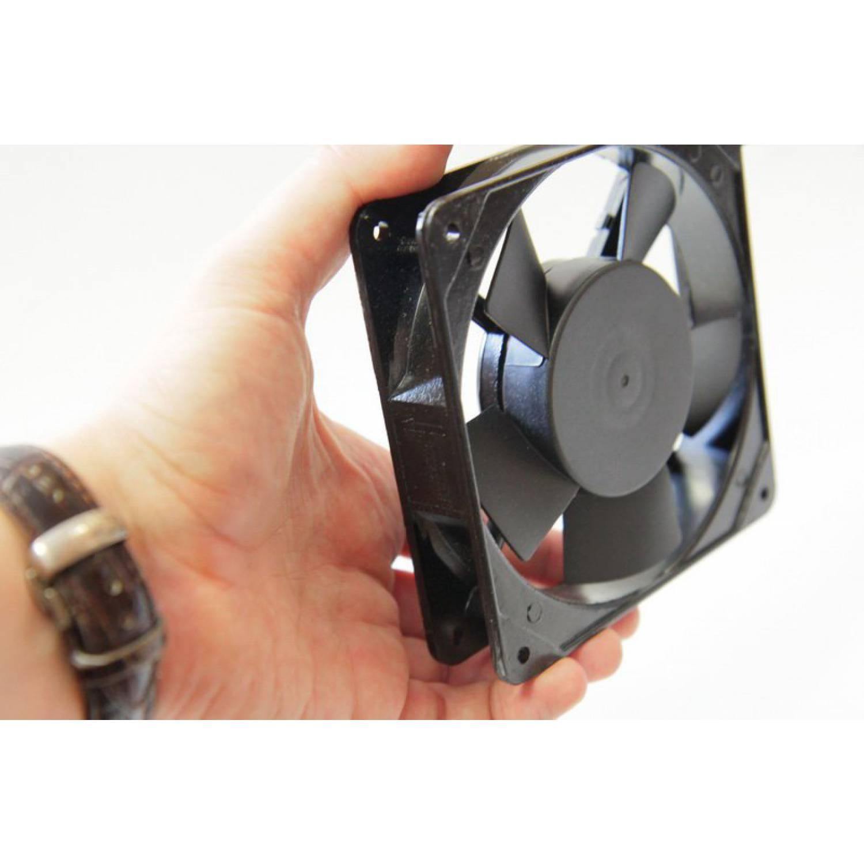 Осевой вентилятор корпусной 120х120х25мм 220Вольт