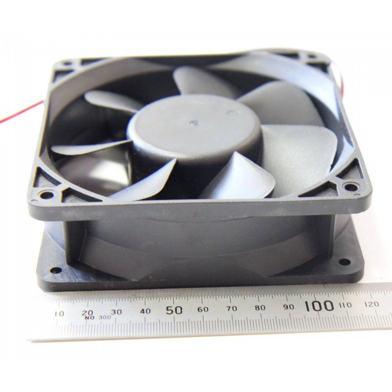 Осевой вентилятор корпусной 120х120х38мм 12Вольт