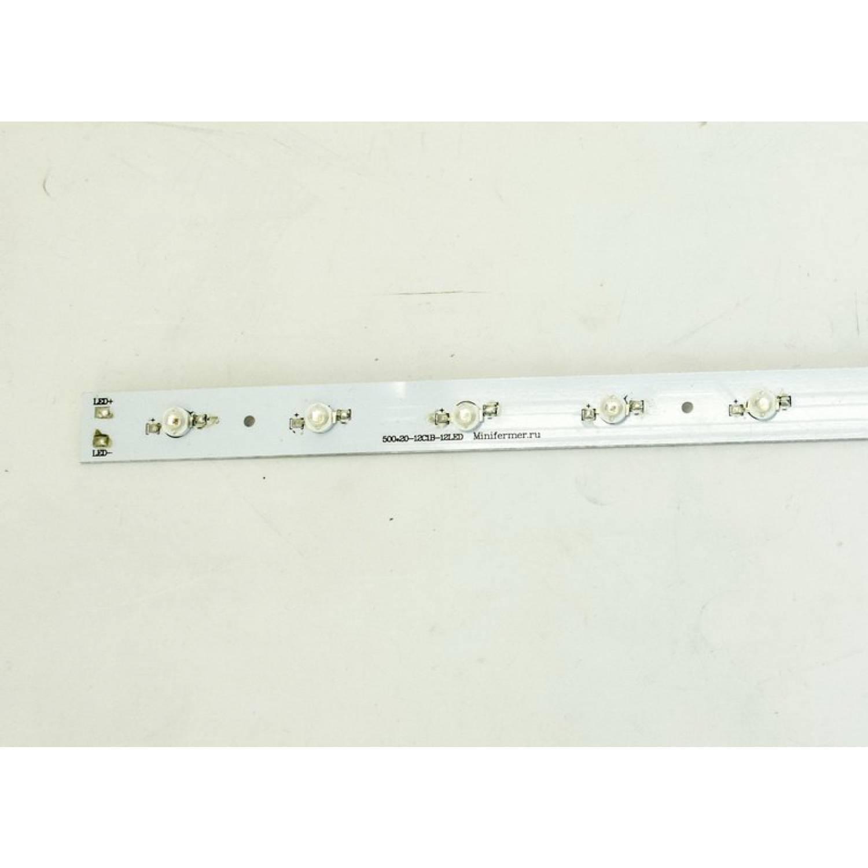 Модуль линейный 12x LED PCB RGB 500