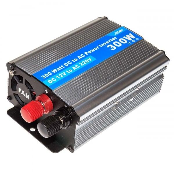 Инвертор преобразователь (300Ватт) DC 12Вольт в AC 220 Вольт