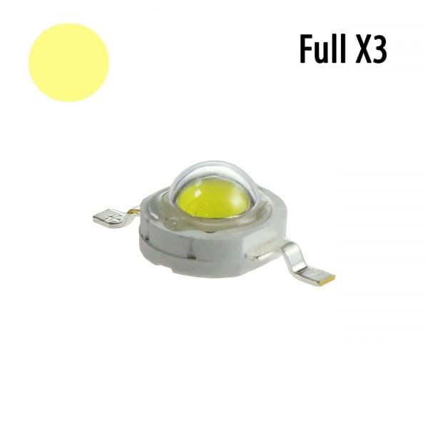 Фито светодиод 5Вт fullx3 для растений