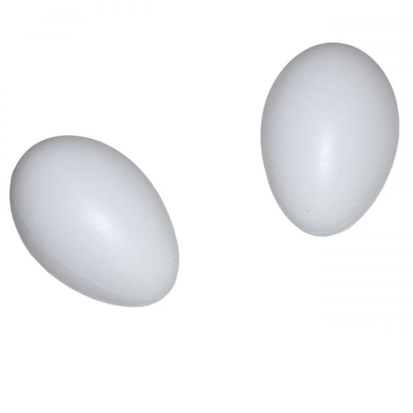 Пластиковое яйцо гусиное