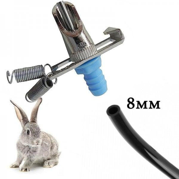 Ниппельная поилка для кроликов НП3