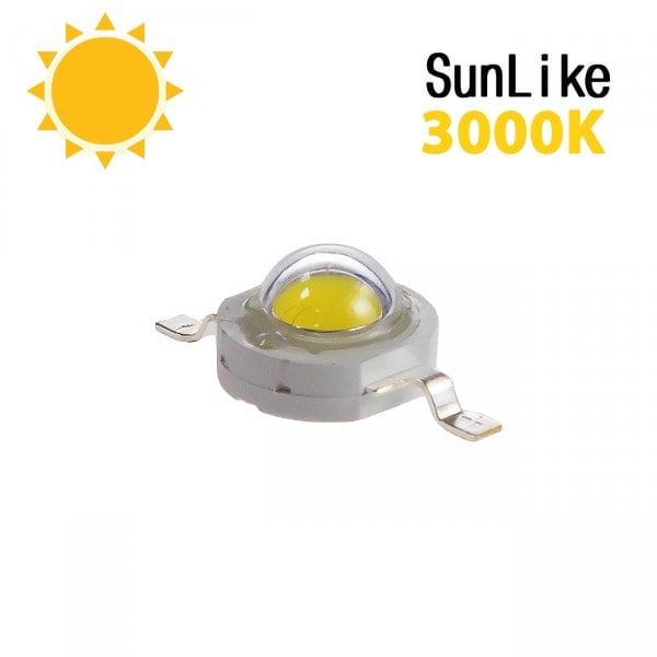 Фито светодиод 3 Вт SunLike 3000K