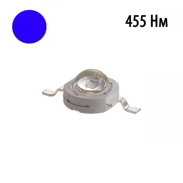 Фито светодиод 3 Вт 455 нм. (синий)