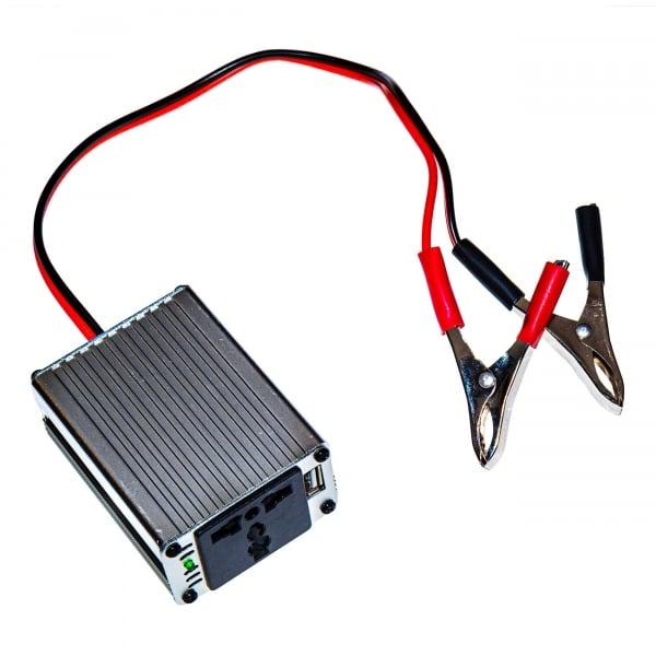 Инвертор преобразователь 150Ватт DC 12Вольт в AC 220Вольт и 5Вольт USB