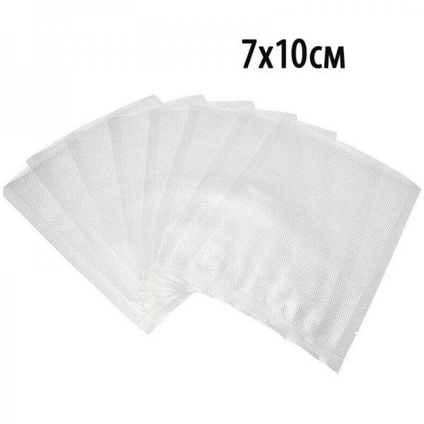 Пакет для вакуумной упаковки продуктов.  7х10см (100шт)