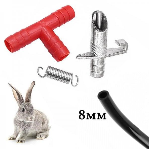 Ниппельная поилка для кроликов НП4