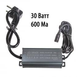 Драйвер для светодиодов 30W 600mA (HG-WP-D36/2) с вилкой