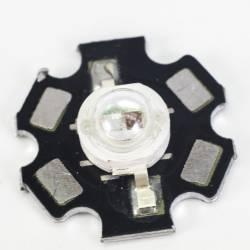 Светодиод красный с синим (два кристалла)
