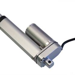Актуатор (линейный привод) длина 500 мм, питание 12 вольт , нагрузка до 50 кг, скорость 6 мм/сек
