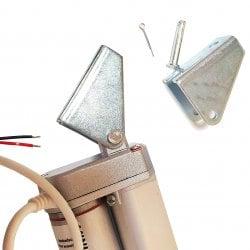 Актуатор (линейный привод) длина 100 мм, питание 12 вольт , нагрузка до 130 кг, скорость 7 мм/сек