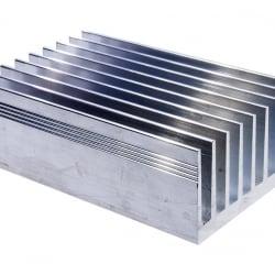 Профиль алюминиевый 63мм * 33мм * 2,4 кг