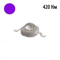 Фито светодиод 3 Вт 420 нм.