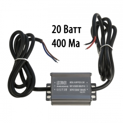 Драйвер для светодиодов 20W 400mA (HG-WP-PF2216) с проводами