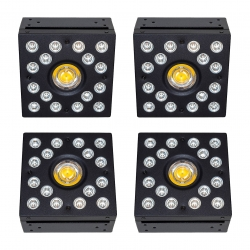 Фитолампа Apollo Mix x4 LED COB 252W (комплект из 4 ламп)