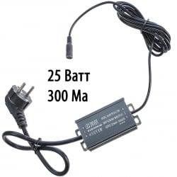 Драйвер для светодиодов 25W 300mA с проводами