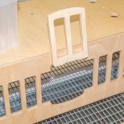 Клетка WoodBird Quail M для 15 перепелов, WBQL15