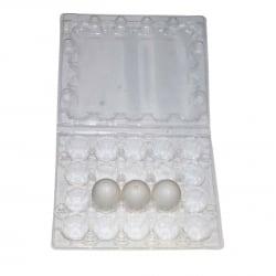 Упаковка на 20 штук  перепелиных яиц