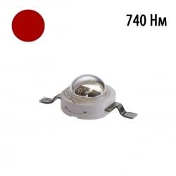 Фито светодиод 5 Вт 730-740 нм. (дальний красный)