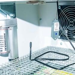 Инкубатор профессиональный NBF-200 с резервным питанием 12 вольт