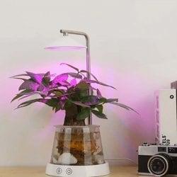Декоративный фитосветильник с регулировкой высоты