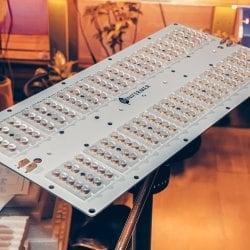 Готовый Quantum board 301B/Seoul 120 Ватт(60*2) с диммируемым драйвером ver3 БЕЗ ПОДВЕСОВ