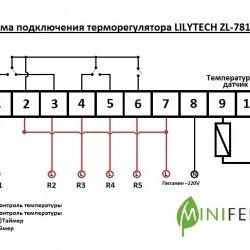 Терморегулятор Lilytech 7815А