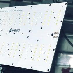 Уценка 1.14 Quantum board 180 х 390 Samsung lm301b 4000K + Osram SSL 660nm+UV+660 nm 3030