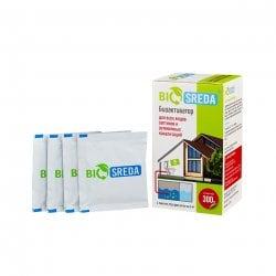 Биоактиватор для всех видов септиков и автономных канализаций BIOSREDA 300 гр