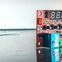 Терморегулятор цифровой ТР-12V (бескорпусный).