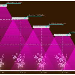 LED фитолампа GrowMax GM600 (1080\600Ватт).