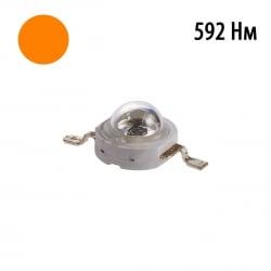 Фито светодиод 3 Вт 592 нм. (оранжевый)