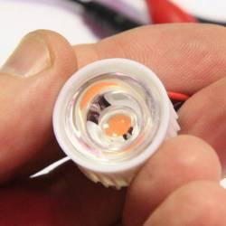 Линза для светодиодов 1-3W №1 30 градусов