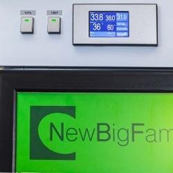 Инкубатор двухкамерный NBF-400/400