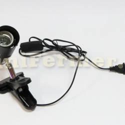 Патрон-прищепка E27 с выключателем