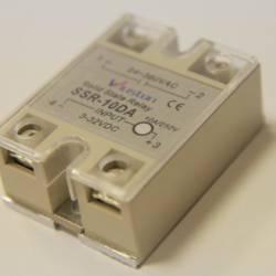 Твердотельное реле 10Ампер 3-32VDC для коммутации переменного тока 24-380VAC