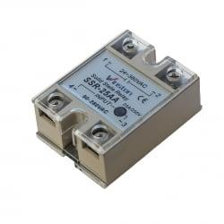 Твердотельное реле 25Ампер 90-250VAC для коммутации переменного тока 24-380VAC
