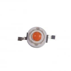 Фито светодиод 3 Вт полный спектр (full spectrum led) без платформы 400-800нм
