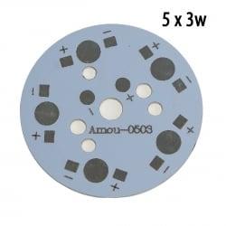Модуль 5x3 Ватт пустой