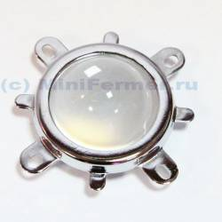 Линза с держателем и отражателем для светодиодных матриц 20Watt