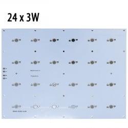 Модуль прямоугольный 24x3 Ватт пустой