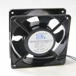 Осевой вентилятор корпусной 120х120х38мм 220Вольт