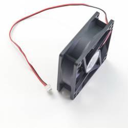 Осевой вентилятор корпусной 80х80х25мм 12Вольт