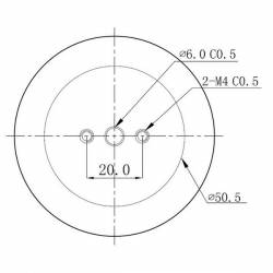 Радиатор для PCB 5x3