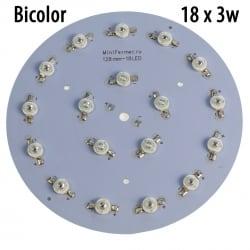 Модуль 18x3 Ватт Биколор 660+450nm